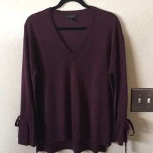 J crew Burgundy sweater medium